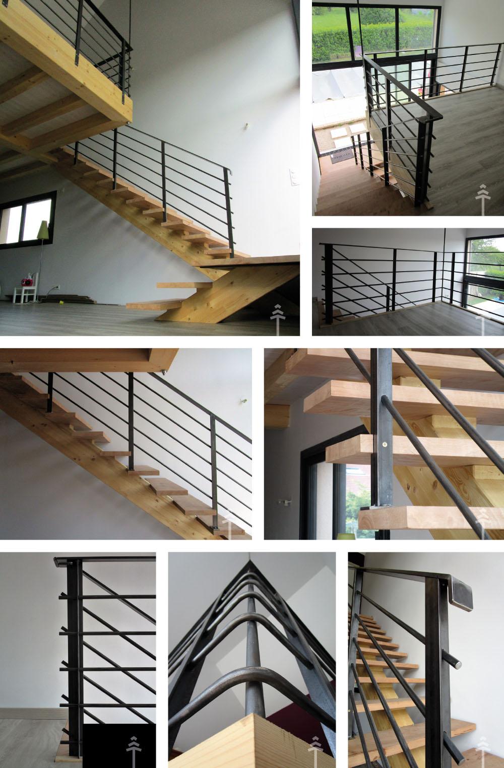 escalier-mezzanine
